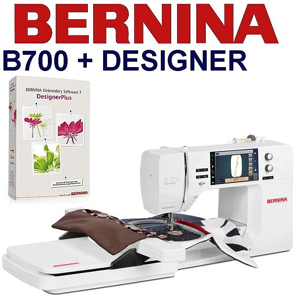 BERNINA B700 Embroidery Studio DESIGNER - Hafciarka + zaawansowany program hafciarski