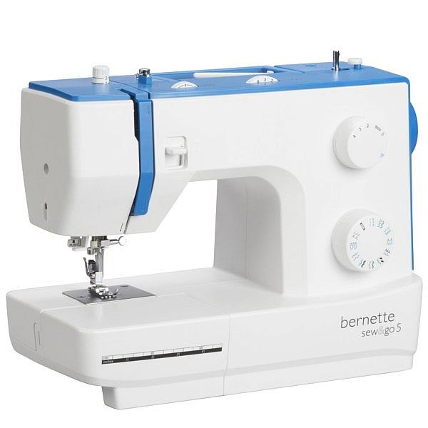 BERNINA Sew&Go 5 PLUS - Specjalna Promocyjna Wersja idealnej maszyny do szycia
