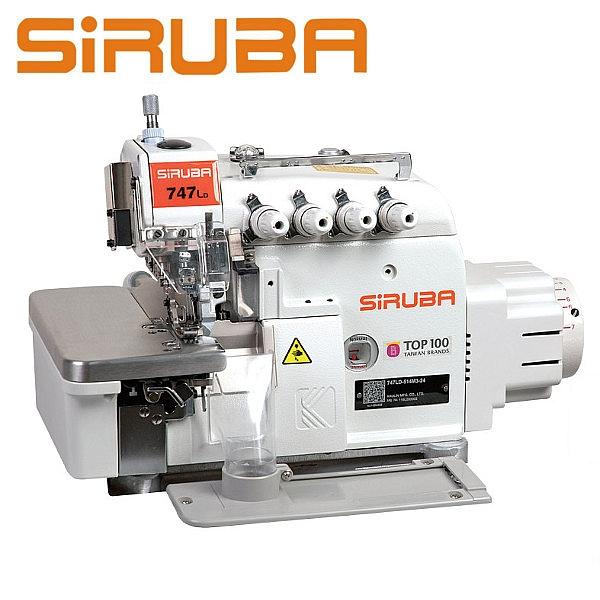SIRUBA 747LD-514M3-24/ECA Overlock 4 nitkowy, automatyka + silnik DirectDrive !