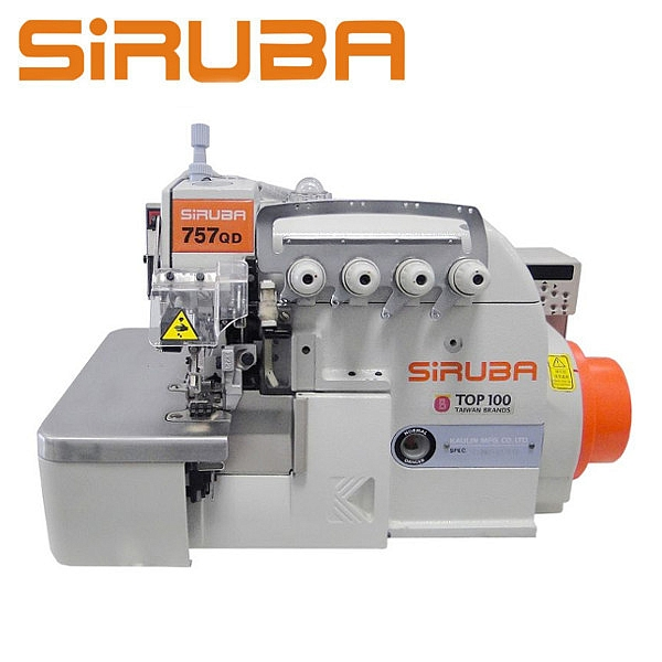 SIRUBA 757QD-516M2-35/ECA Overlock 5 nitkowy, silnik energooszczędny Direct Drive, automatyka
