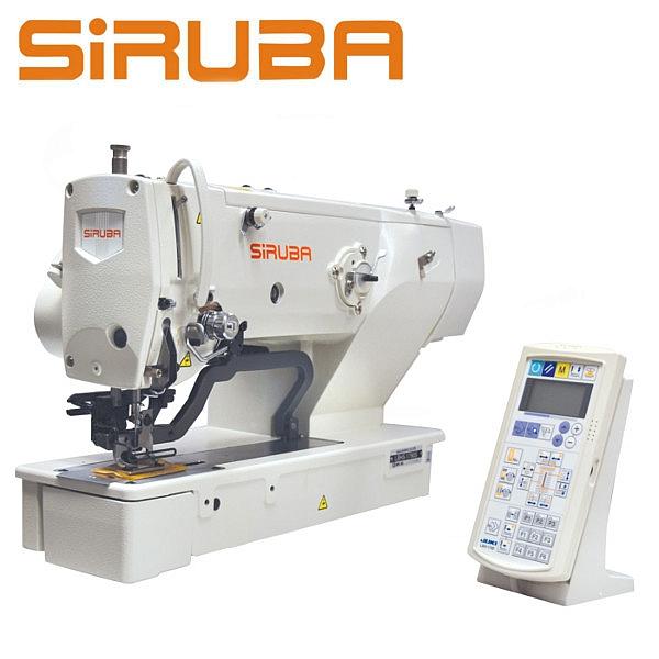 SIRUBA LBHS1790S Dziurkarka odzieżowa 2-nitkowa, silnik Direct Drive, automatyczne obcinanie nici !