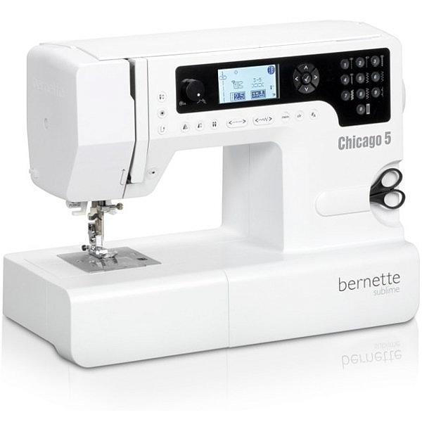 BERNINA AG - Bernette CHICAGO 5 - Komputerowa maszyna do szycia !