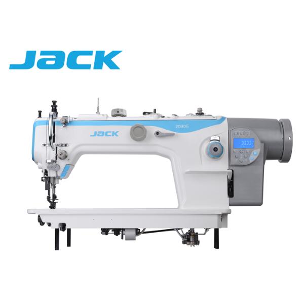JACK JK-2030G-4Q do szycia grubych materiałów, podwójny transport silnik Direct Drive