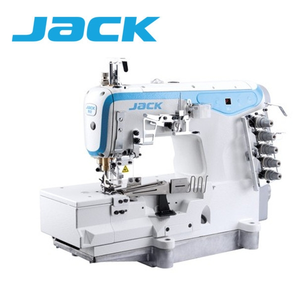 JACK JK-W4 Renderka, 3-igłowa maszyna drabinkowa z silniem DirectDrive