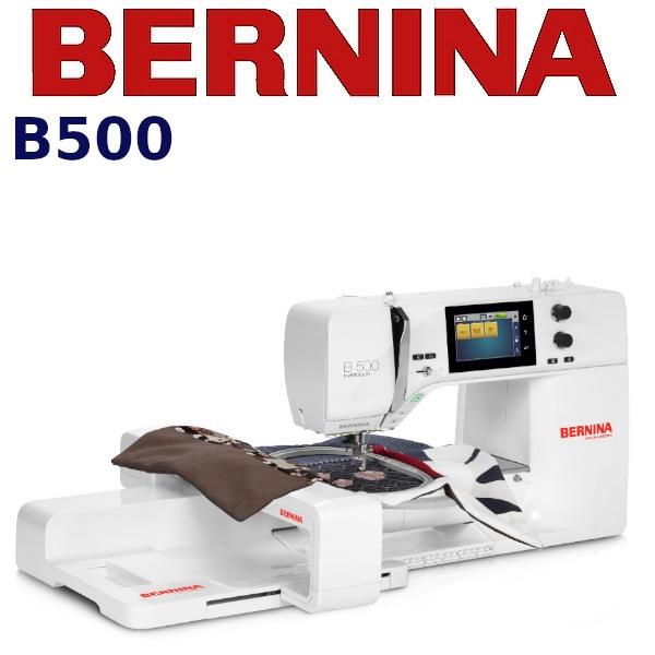 BERNINA B500 Profesjonalna maszyna do haftowania dla wymagających
