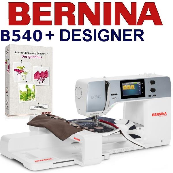 BERNINA B540 Embroidery Studio Designer - Hafciarka komputerowa z najbardziej rozbudowanym programem do haftu