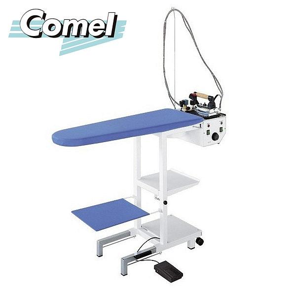 Stół prasowalniczy z wytwornicą pary COMEL MAXI C z żelazkiem i stopą teflonową<br>