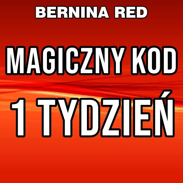 MAGICZNY KOD BERNINA RED 1 Tydzień
