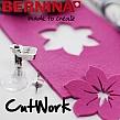 BERNINA CutWork - zestaw do wycinania wzorów i aplikacji w tkaninie