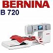 BERNINA B720 Komputerowa hafciarka dla firm. Do usług, produkcji i rzemiosła.