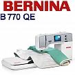 BERNINA B770 QE Hafciarka dedykowana do działalności gospodarczej