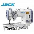 JACK JK-58450-005 Stębnówka 2-igłowa z podwójnym transportem, wyłączane igły + silnik energooszczędny !