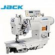 JACK JK-58750D-405 Stębnówka 2-igłowa z podwójnym transportem, chwytacz XXL, wyłączane igły, funkcje automatyczne + silnik Direct Drive !