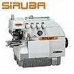 SIRUBA 747FS-514M2-04 Overlock 4 nitkowy, cylindryczne łoże + silnik energooszczędny