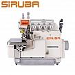SIRUBA 757KT-516X3-56 Overlock 5 nitkowy, podwójny transport + silnik energooszczędny, do ciężkiego szycia