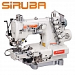 Siruba C007KD-W812-356/CRL/UTP/CL Renderka z łożem cylindryczny, silnikiem Direct Drive + automatyka i puller !