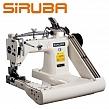 SIRUBA FA007-248/DP Ramieniówka 2-igłowa, lekkie szycie + puller, silnik energooszczędny