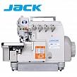 JACK JK-799S-5 Owerlok 5-nitkowy z obcinaniem nici, Silnik Direct Drive
