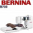 BERNINA B700 Komputerowa hafciarka-wyszywarka do usług, produkcji i rzemiosła