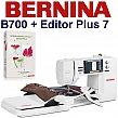 BERNINA B700 Embroidery Studio Editor - Hafciarka + program do haftu