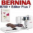 BERNINA B700 Embroidery Studio Editor - Hafciarka + program do haftu