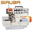SIRUBA 747LD-514M3-24/ECA/BKT  Overlock 4 nitkowy, automatyczne zaszywanie łańcuszka, silnik DirectDrive