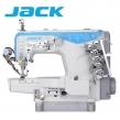 JACK JK-K4-UT-01 GBX  Renderka cylindryczna, 3-igłowa maszyna drabinkowa, silnik Direct Drive, pełen automat