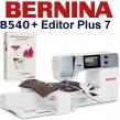 BERNINA B540 Embroidery Studio Editor - Maszyna do haftowania z programem hafciarskim