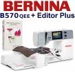 BERNINA B570 QEE Embroidery Studio Editor - Hafciarka w komplecie z programem do haftu