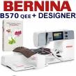 BERNINA B570 QEE Embroidery Studio Designer - Maszynado haftu w komplecie z oprogramowaniem hafciarskim